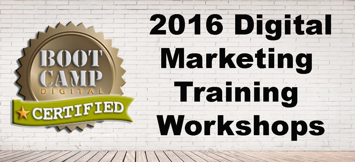 Announcing 2016 DM Training